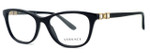 Versace Designer Eyeglasses 3213B in Black (GB1) :: Rx Single Vision