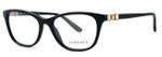Versace Designer Eyeglasses 3213B in Black (GB1) :: Rx Bi-Focal