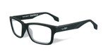 Wiley-X Contour Optical Eyeglass Collection in Matte-Black (WSCON01) :: Custom Left & Right Lens