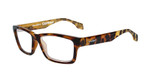 Wiley-X Contour Optical Eyeglass Collection in Gloss-Brown-Demi (WSCON04) :: Custom Left & Right Lens