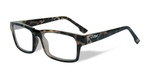 Wiley-X Profile Optical Eyeglass Collection in Gloss-Demi-Green (WSPRF05) :: Custom Left & Right Lens
