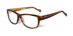 Wiley-X Marker Optical Eyeglass Collection in Gloss-Brown-Streak (WSMAR04) :: Rx Single Vision