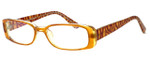 Moda Vision 8004 Designer Eyeglasses in Brown :: Progressive