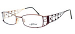Caviar Optical Eyeglass Collection M1914 in Wine (C16) :: Rx Single Vision