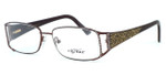 Caviar Optical Eyeglass Collection M1808 in Wine (C16) :: Rx Single Vision