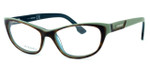 Diesel DL5039 Optical Eyeglass Collection in Tortoise & Green (056) :: Rx Single Vision