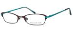 Jones NY Designer Eyeglasses J468 in Brown :: Progressive