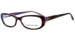 Jones New York Womens Designer Eyeglasses J742 in Brown :: Rx Single Vision