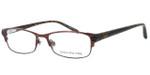 Jones New York Womens Designer Eyeglasses J463 in Brown :: Progressive