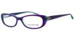 Jones New York Womens Designer Eyeglasses J742 in Purple :: Progressive