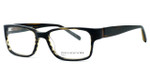 Jones New York Womens Designer Eyeglasses J514 in Olive Stripe :: Rx Bi-Focal