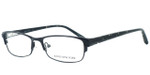 Jones New York Womens Designer Reading Glasses J463 in Black