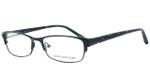 Jones New York Womens Designer Reading Glasses J463 in Black
