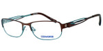 Converse Spray Paint Designer Eyeglasses in Brown/Green :: Custom Left & Right Lens