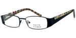 Visage Petite Designer Eyeglasses 100 in Black :: Custom Left & Right Lens