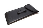 Mens Soft Eyeglass Clip Case w/ Flap