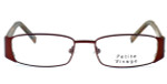 Visage Petite Designer Eyeglasses 100 in Brown :: Rx Bi-Focal