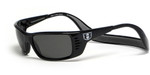 Hoven Eyewear Meal Ticket in Black & Grey Polarized
