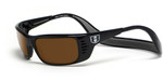 Hoven Eyewear Meal Ticket in Black & Amber Polarized