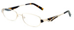 Calabria Designer Reading Glasses 824 Gold