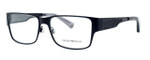 Emporio Armani Designer Eyeglasses EA1022-3001 in Black 53 mm :: Custom Left & Right Lens