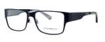 Emporio Armani Designer Eyeglasses EA1022-3001 in Black 55 mm :: Custom Left & Right Lens