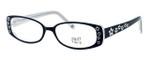 Hilary Duff HD122373-069 Designer Reading Glasses in Black & White