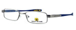 Body Glove BB122 Designer Reading Glasses in Pewter