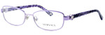 Versace 1186B-1012 Designer Eyeglasses in Violet :: Rx Single Vision