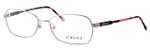 Versace 1192-1299 54mm Designer Eyeglasses in Pink :: Rx Single Vision