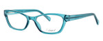 Enhance Optical Designer Eyeglasses 3903 in Azure :: Custom Left & Right Lens