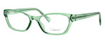 Enhance Optical Designer Eyeglasses 3903 in Jade :: Custom Left & Right Lens