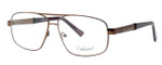 Enhance Optical Designer Eyeglasses 3920 in Matte-Coffee :: Custom Left & Right Lens