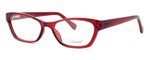 Enhance Optical Designer Eyeglasses 3903 in Burgundy :: Rx Single Vision