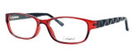 Enhance Optical Designer Eyeglasses 3959 in Burgundy-Black :: Rx Single Vision