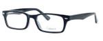 Enhance Optical Designer Reading Glasses 3928 in Black-Crystal
