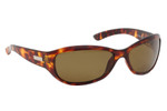 Ono's™™ Polarized Sunglasses: Harbor Docks in Tortoise & Amber