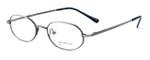 Calabria MetalFlex Designer Eyeglasses P in Antique Pewter :: Custom Left & Right Lens