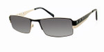 Dale Earnhardt, Jr. 6707 Designer Reading Sunglasses in Black-Silver