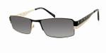 Dale Earnhardt, Jr. 6707 Designer Reading Sunglasses in Black-Silver