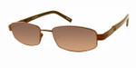 Dale Earnhardt, Jr. 6709 Designer Reading Sunglasses in Brown