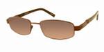 Dale Earnhardt, Jr. 6709 Designer Reading Sunglasses in Brown