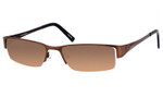 Dale Earnhardt, Jr. 6728 Designer Reading Sunglasses in Brown