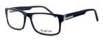 """Calabria Optical Designer Reading Glasses """"Big And Tall"""" Style 10 in Black"""
