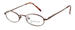 Calabria Kids Fit MetalFlex Designer Reading Glasses H in Brown