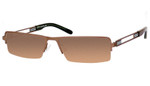 Dale Earnhardt, Jr. 6744 Designer Reading Sunglasses in Brown