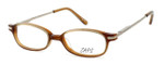 Calabria Viv Kids Zaps 4 Designer Reading Glasses in Brown