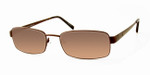Dale Earnhardt, Jr. 6746 Designer Reading Sunglasses in Brown