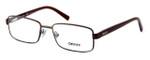 DKNY Donna Karan New York Designer Optical Eyeglasses DY5638-1169 in Matte Brown :: Custom Left & Right Lens