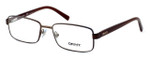 DKNY Donna Karan New York Designer Optical Eyeglasses DY5638-1169 in Matte Brown :: Rx Bi-Focal
